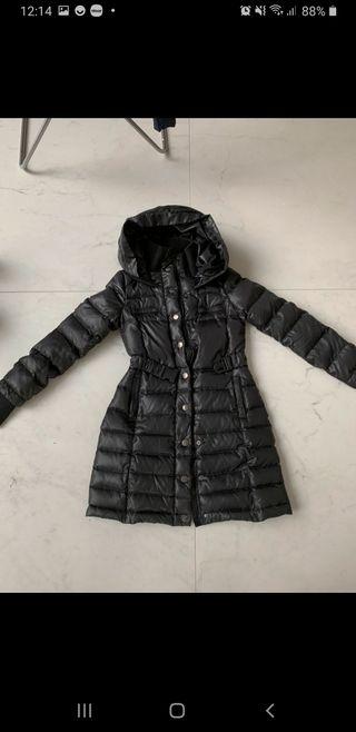 abrigo de plumas pinko xs negro