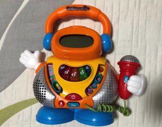 Karaoke Infantil con micrófono