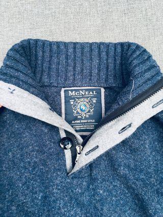 Jersey azul McNEAL. Talla S