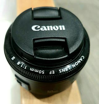 Objetivo Canon 50mm 1.8 NUEVO