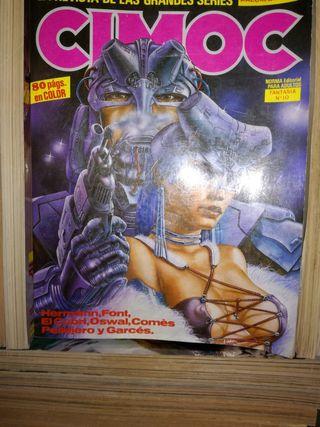 varios comics vintage cimoc, bizarras, creepy