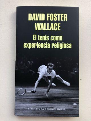 Libro El tenis como experiencia religiosa