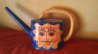 Regadera de cerámica