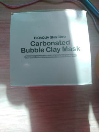 Mascarilla Facial Burbujas