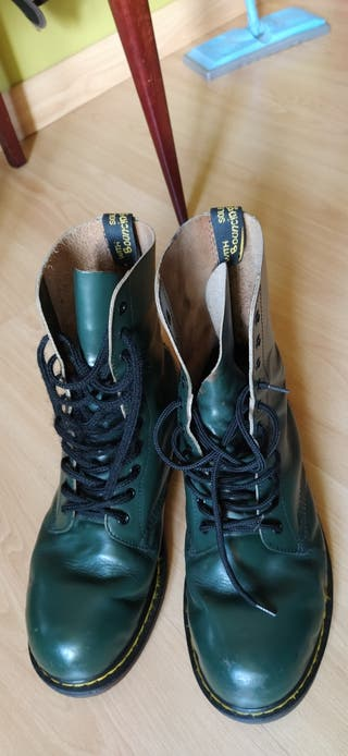 Botas Dr Martens originales verdes. talla 45