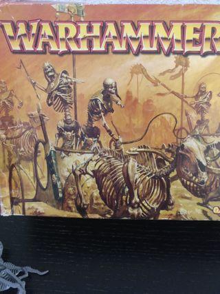 Warhammer - carros reyes funerarios