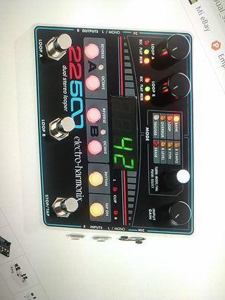 pedal efectos guitarra electrica