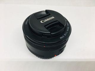 Objetivo Canon 50MM 1:18 STM 1.1 FT