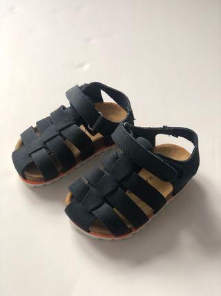 Sandalias piel bebe zara nuevas