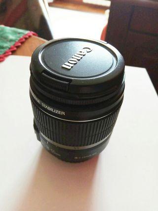 Objetivo zoom CANON de 18/55 mm