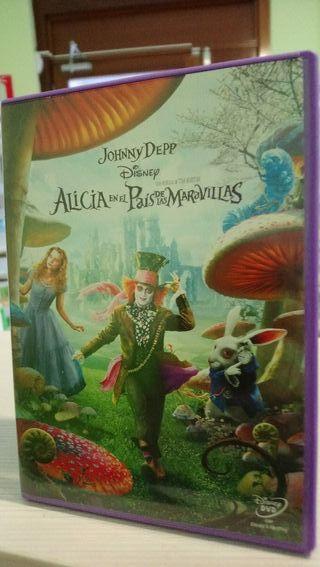 Alicia en el País de las Maravillas dvd