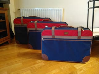 Juego de tres maletas