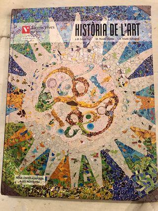 Llibre Història de l'art - 2n batxillerat
