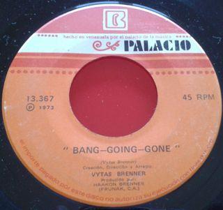 VYTAS BRENNER Ganado JAZZ ROCK VINILO Single 1973