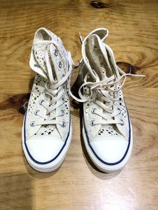 Nuevas Talla 36 Zapatillas converse mujer niña
