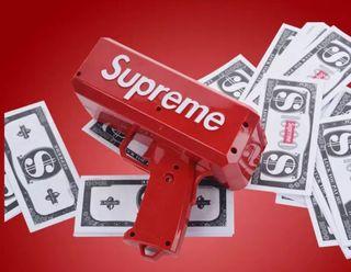 Pistola supreme billete