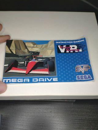 juego virtua Racing de sega mega Drive