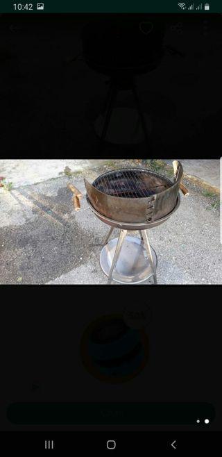 barbacoa de acero