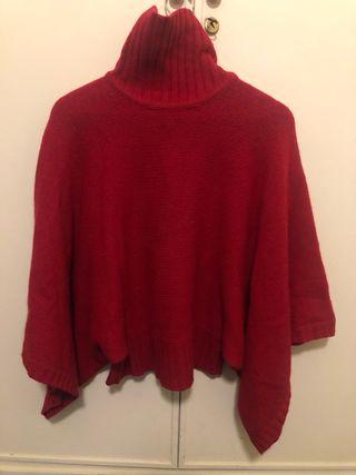 Jersey rojo cuello alto wonan's secret