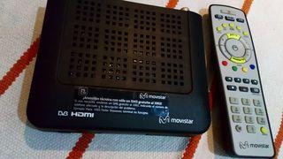 movistar tv decodificador pack completo
