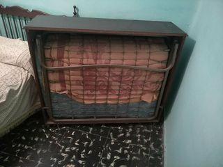 cama plegable en armario de 1,20 perfecta.