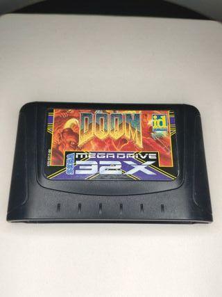 juego Doomde sega mega Drive 32x
