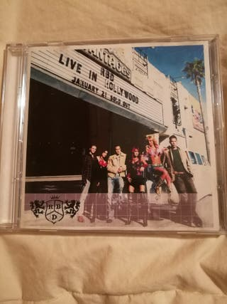 DISCO CD RBD LIVE IN HOLLYWOOD