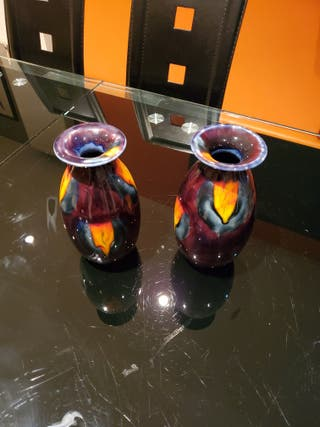 Pair of Anita Harris vases