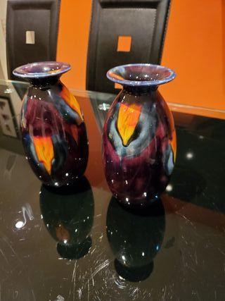 Pair of Anita Harris vases