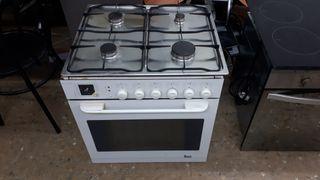 Conjunto de horno electrico+encimera de gas