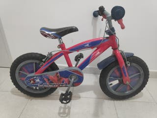 Bicicleta niño 14 pulgadas