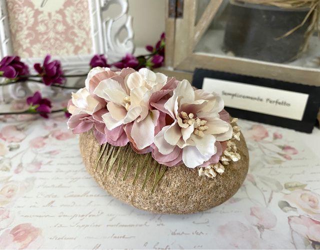 Tocado Flores - Maria