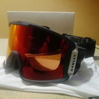 Máscara Esquí Oakley Line Miner Snow