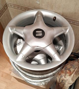 "Llantas aluminio 14"" Seat"