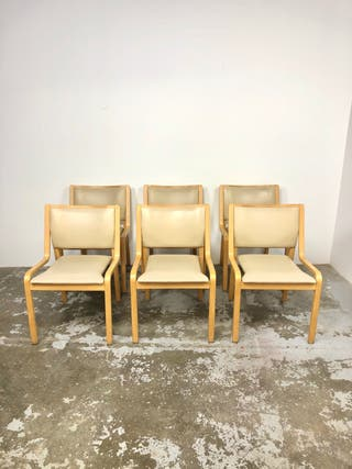 Set 6 sillas suecas