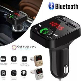 Transmisor FM Bluetooth Coche USB mp3 Nuevo