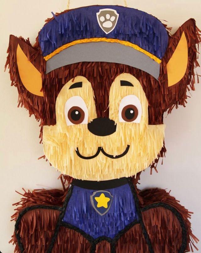 Piñata patrulla canina cumpleaños