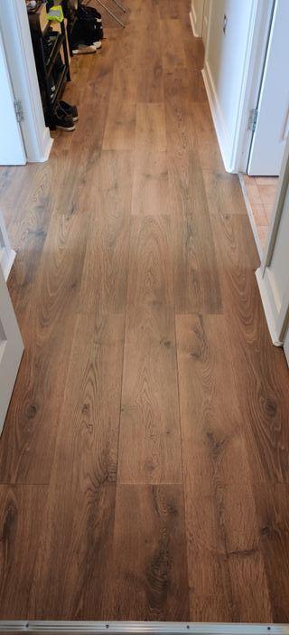Laminate floor