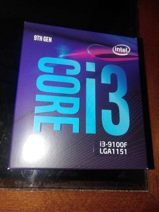 Procesador INTEL CORE i3-9100F 4 Nucleos ¡¡NUEVO!!