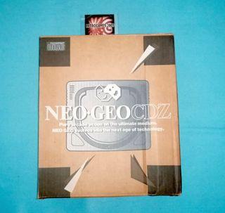 NEO GEO CDZ TOP NEOGEO SYSTEM CONSOLE SNK NCD