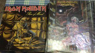 16 vinilos Iron Maiden