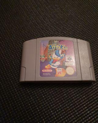Donald Quack Attack Nintendo 64