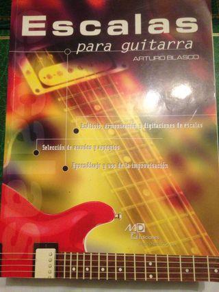 Libro de Guitarra Escalas.
