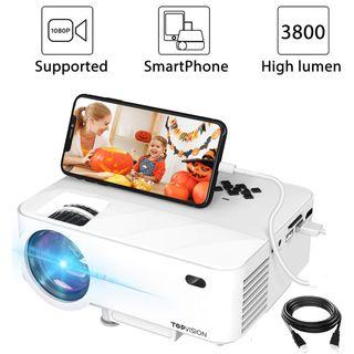 Mini proyector, 3800 lumens