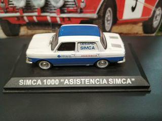 MAQUETA SIMCA 1000 ASISTENCIA