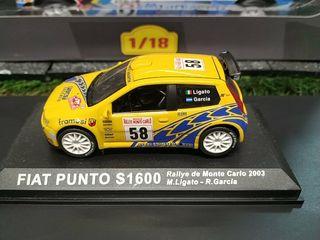 MAQUETA FIAT PUNTO S1600 1/43