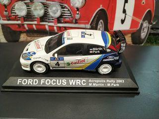 MAQUETA FORD FOCUS WRC 1/43