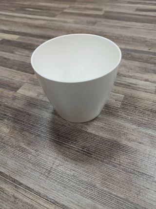 100 Macetas San Remo Artevasi blanco 9cm