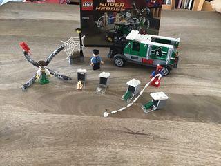 Lego Marvel Spiderman- el atraco de Dock Ock