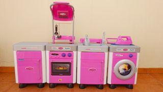 Cocinita de juguete modelo Carmen